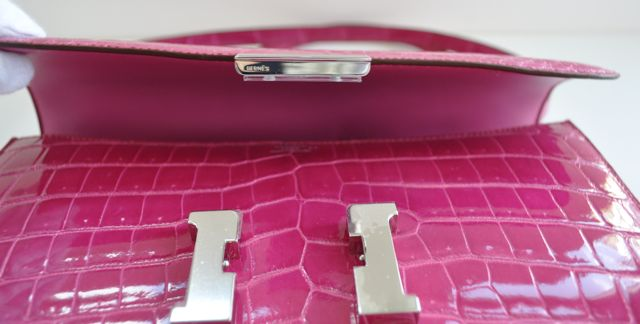 SOLD] Authentic Hermes Constance Elan Fuschia Constance ...