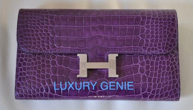 hermes rouge h epsom constance long wallet palladium hardware